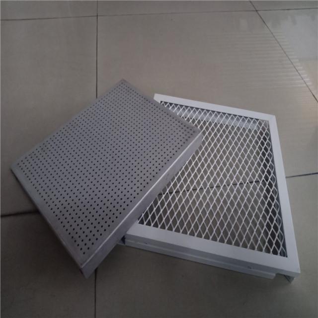 冲3mm圆孔铝单板和铝拉网板