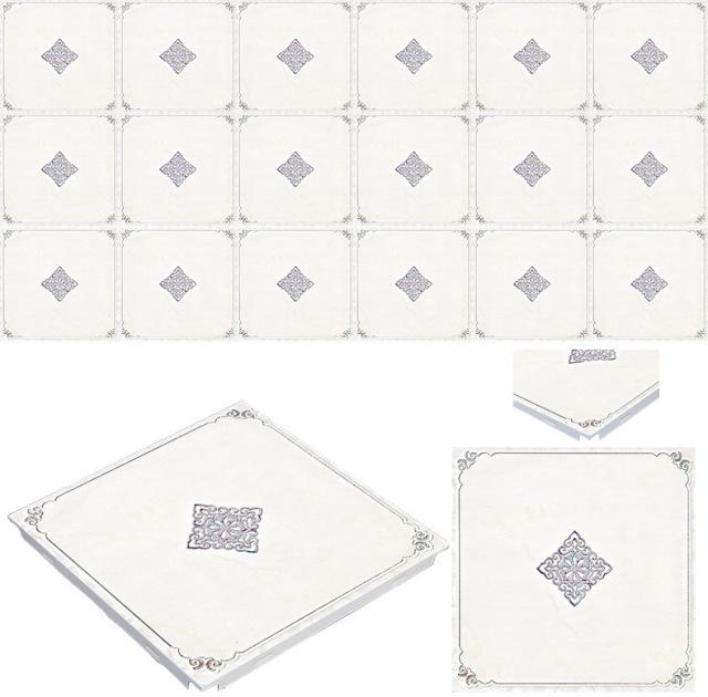 欧式凸纹印花铝扣板