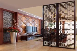 家具厨房大厅分隔铝屏风