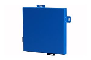 蓝色氟碳烤漆铝单板