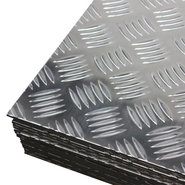 五道杠花纹压纹防滑铝板