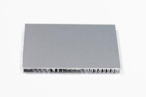 8mm银灰色铝蜂窝板