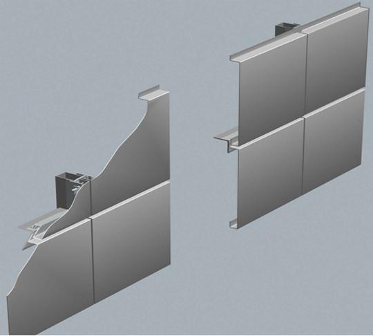田型铝单板展示图