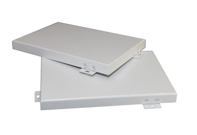 白色喷粉烤漆铝单板