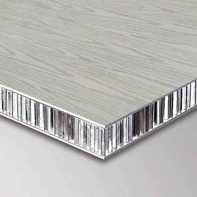 复合贴木皮铝蜂窝