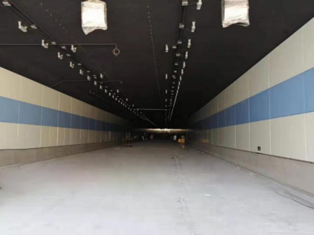 江阴芙蓉大道隧道墙面搪瓷钢板