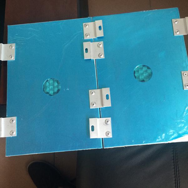 铝蜂窝板密拼安装背面结构