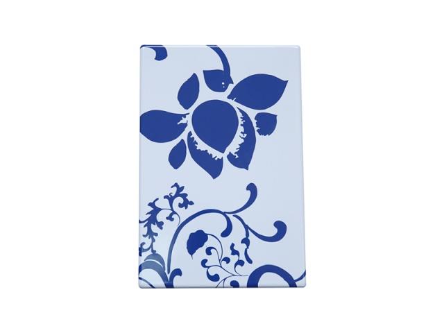 蓝色青花瓷搪瓷钢板
