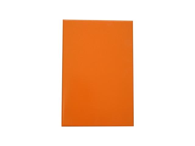橘黄色烤瓷铝板