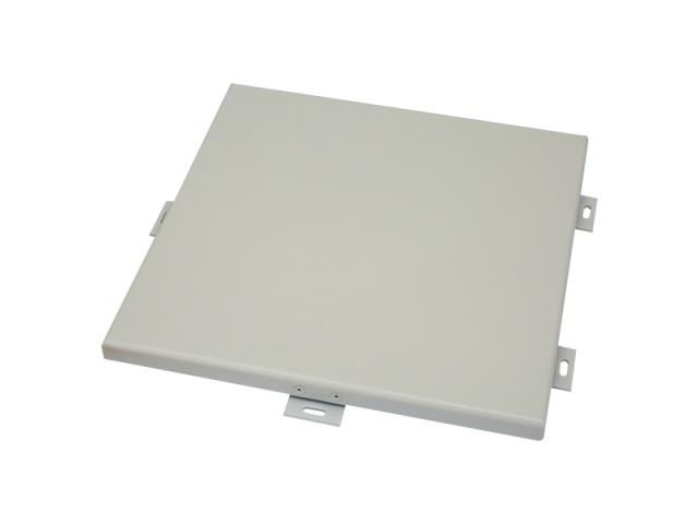 白色喷粉烤漆密拼铝单板