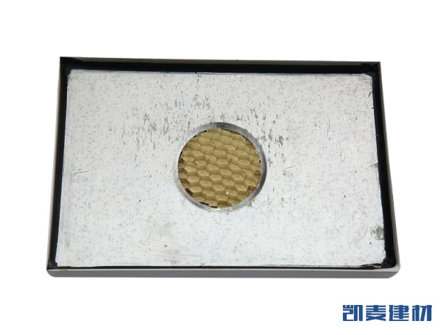 搪瓷钢板铝蜂窝复合板背面