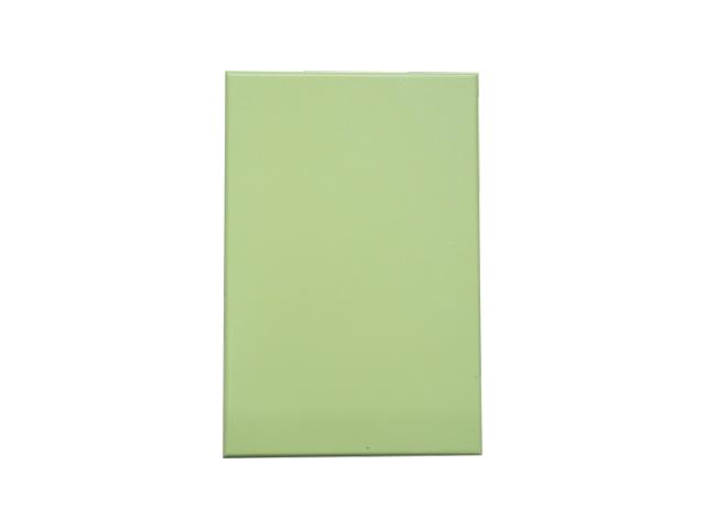 浅绿色烤瓷铝板