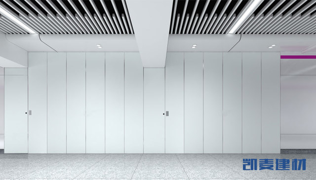 地铁走廊过道高光烤瓷铝板