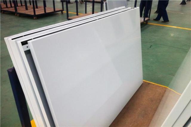 白色高光搪瓷钢板