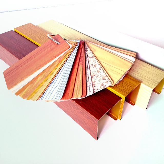热转印木纹色板