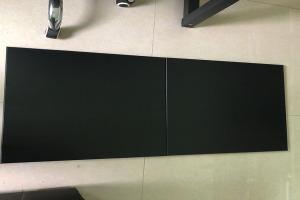 黑色斜角矮边铝扣板拼装