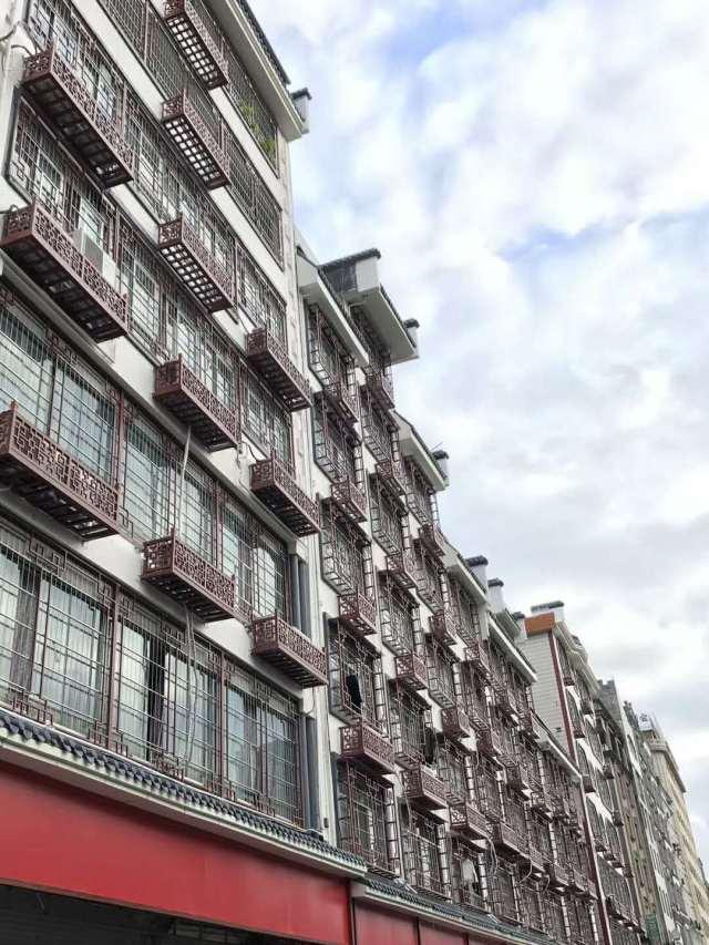 中式仿古阳台铝窗花