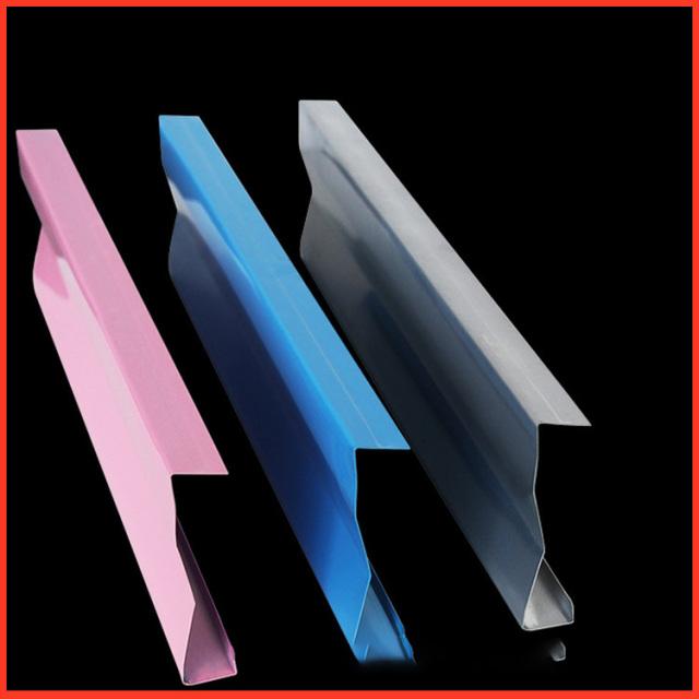 粉红色/蓝色/浅灰色粉末喷涂烤漆J形率挂牌