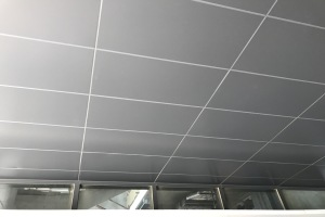 留缝10mm的吊顶铝单板