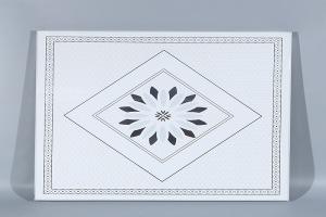 宝石图案花型印花铝扣板