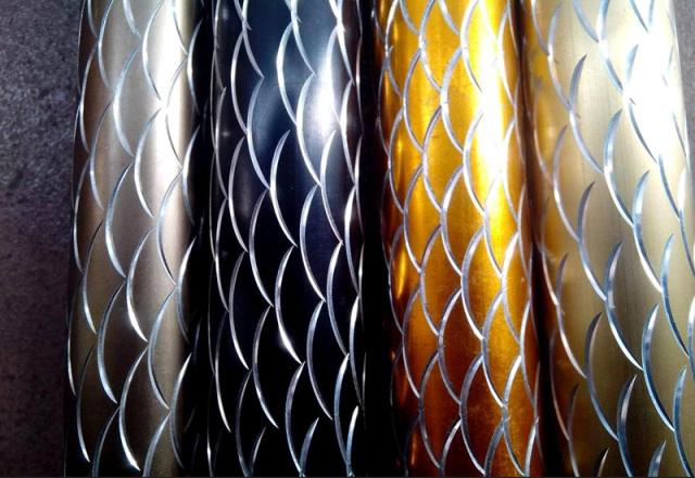 鱼鳞纹氧化铝圆管