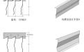 7字型挂片安装结构