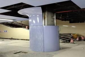 陶瓷铝单板包柱