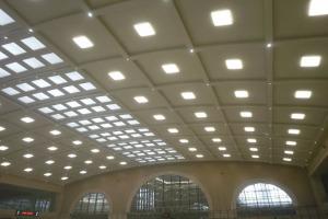 礼堂造型铝单板吊顶