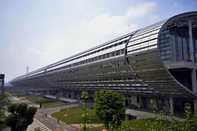 广交会展馆大楼造型铝单板