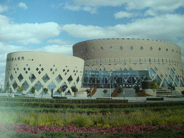歌剧院外立面造型铝单板