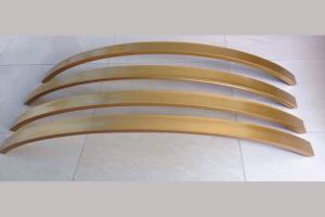 弧形拉弯凹槽方通型材
