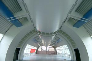 人行道天桥装饰吊顶铝板