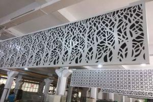 树形雕花铝板