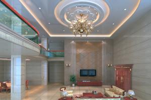 别墅造型吊顶铝单板