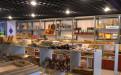 广贸百货商场室内装修工程商铺安装铝格栅