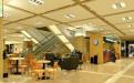 广贸百货商场室内装修工程二楼星巴克吊顶铝板