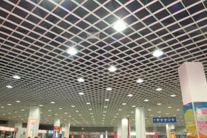 商场吊装规格200*200铝格栅