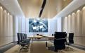 小型会议厅冲孔透气铝单板