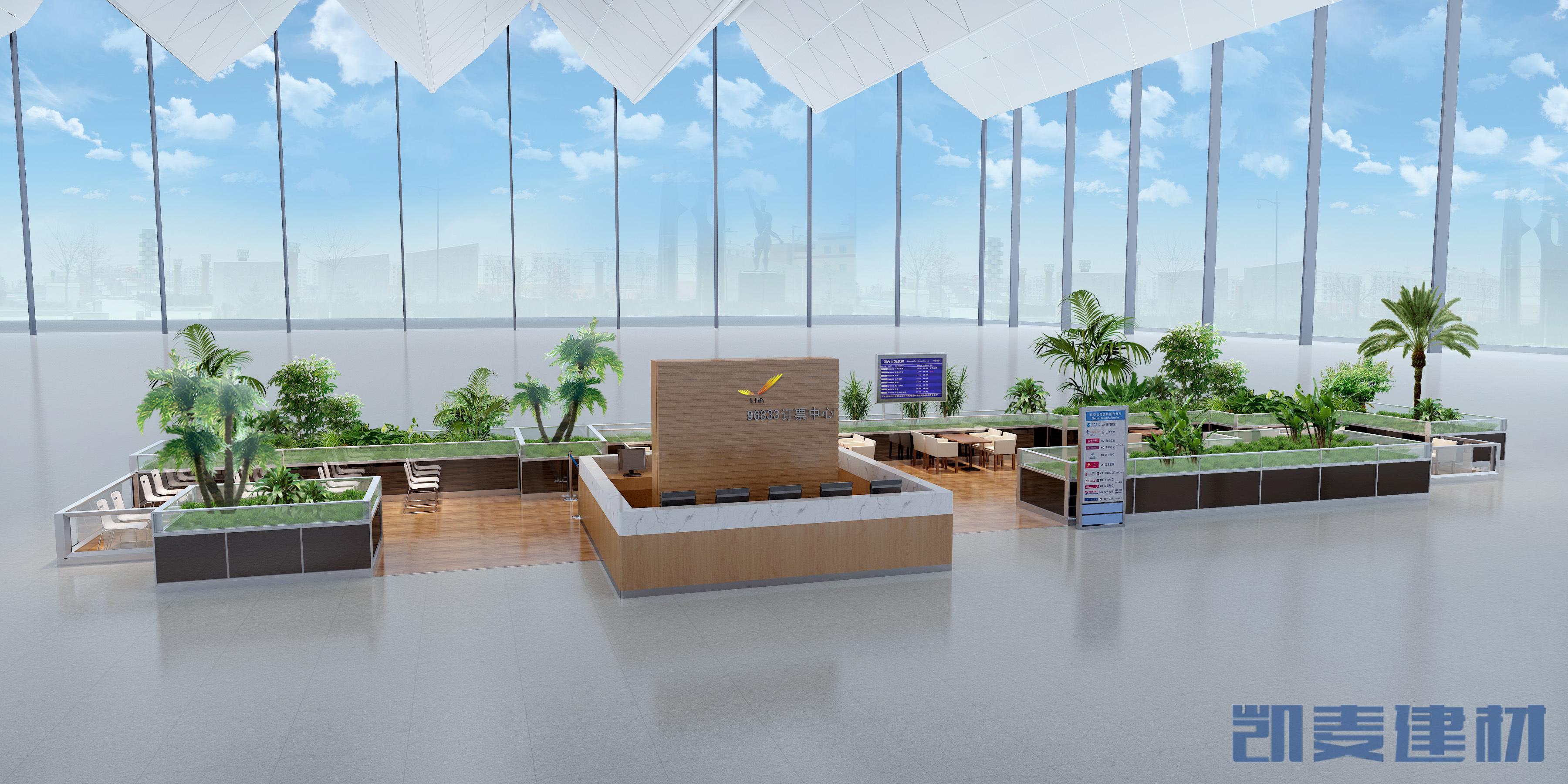 机场大厅吊顶铝单板