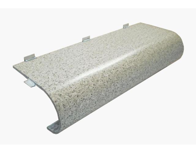弧形石纹铝单板