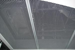 银灰色拉网铝单板