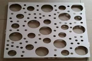不规则打孔铝板