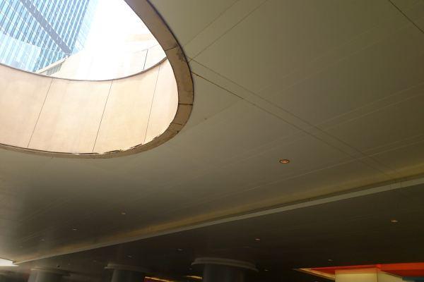 天井吊顶密拼铝板细节