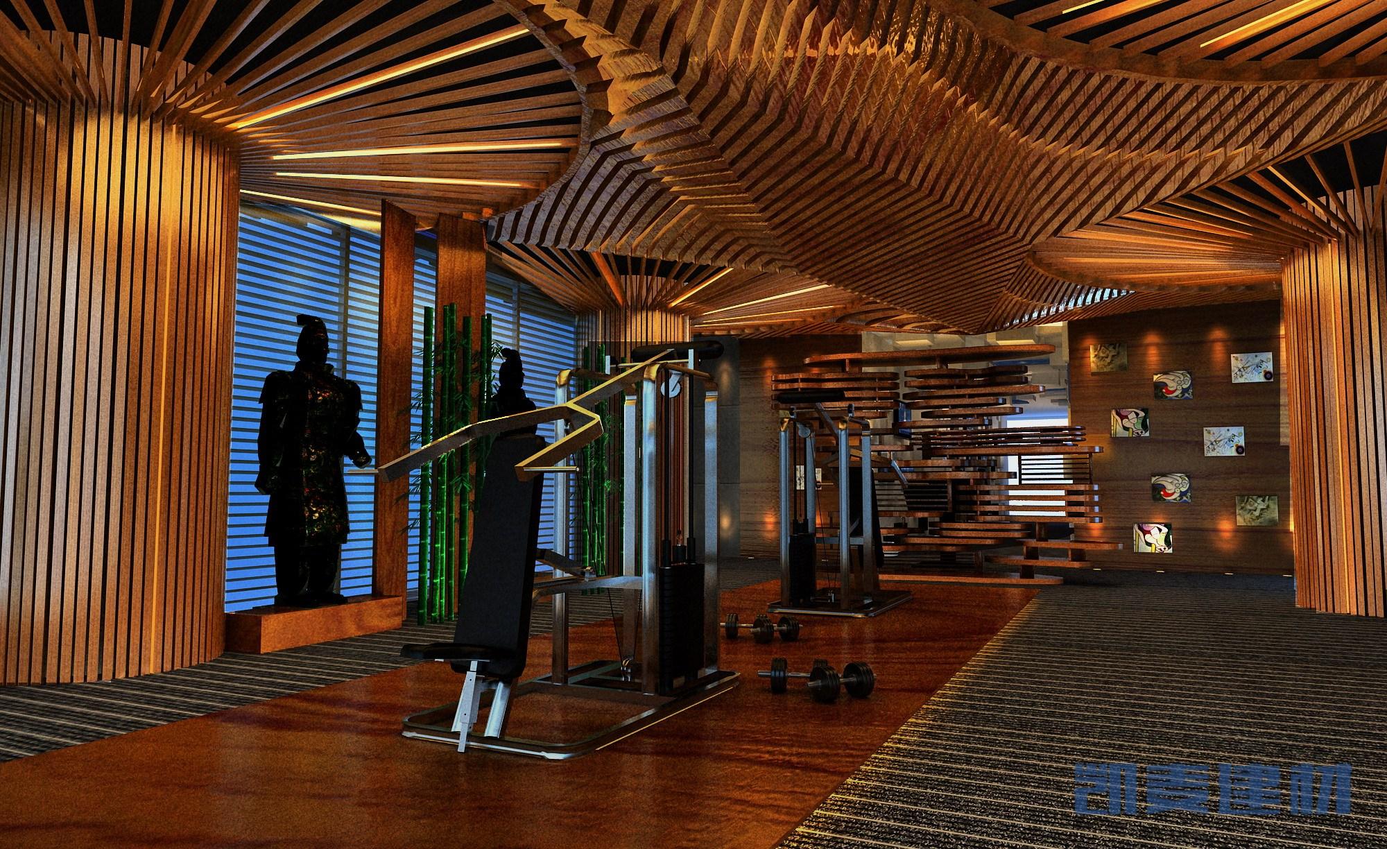 私人健身房造型