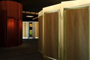3D手感木纹铝单板室内墙面装饰板
