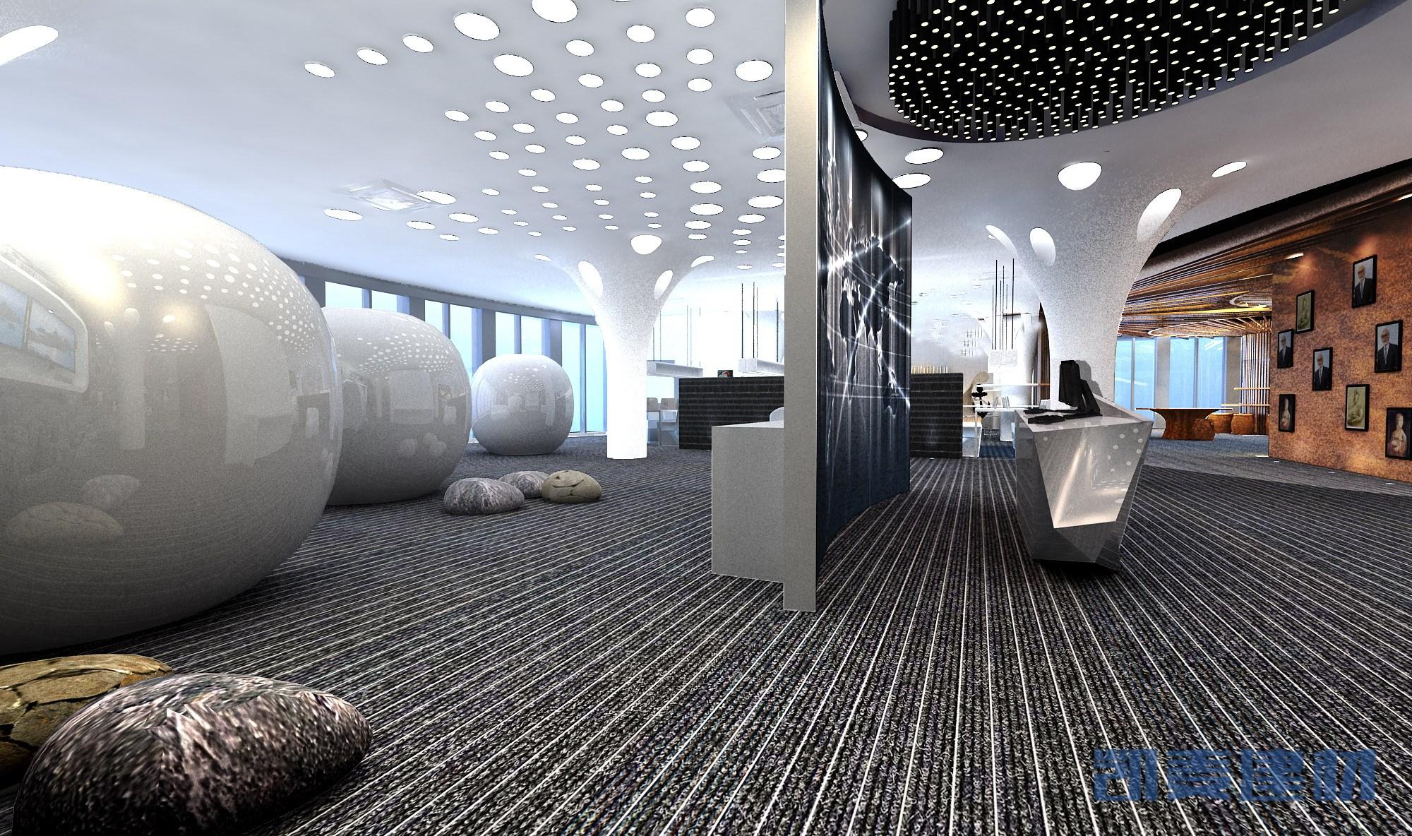 造型铝单板天花吊顶