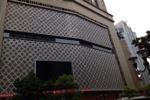 酒店外墙雕刻铝单板