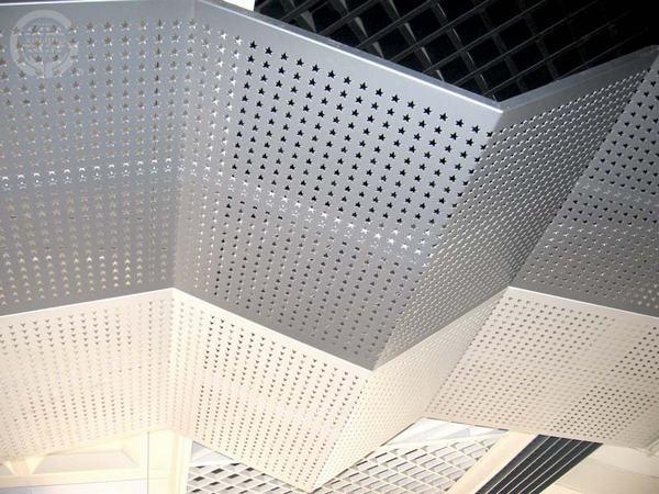 星型孔铝单板