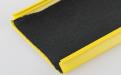 黄色矮边铝条扣贴无纺布