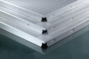 各种冲孔形状的铝扣板